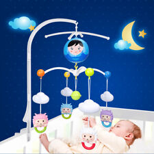 4 In 1 Baby Mobile Bed Bell Holder Crib Cot Music Box Arm Bracket Set Stand New