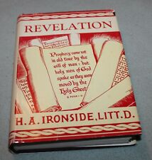 Vintage Revelation by H A Ironside  HB DJ  Extremely nice edition