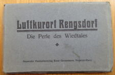 Ak`s 12er Klappkarte Luftkurort Rengsdorf - 30er Jahre