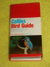 Collins Bird Guide, 1980 1st softback, VGC, 464 species illustrated in colour