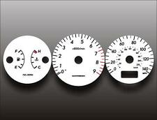 2004-2005 Subaru WRX Dash Instrument Cluster White Face Gauges