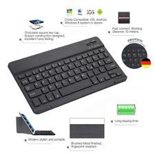 Neues AngebotDE DEUTSCHE QWERTZ Tastatur Bluetooth für iOS/Android iPad mini 1 2 3 4