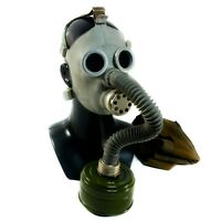 Soviet russian ussr Gas Mask PDF-7. NEW kit PDF-2D chemical nuclear protection