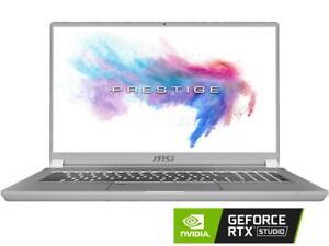 MSI P75 Creator-469 17.3'' i9-9880H 32GB DDR4 1TB NvME NVIDIA GeForce RTX 2070
