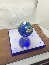 Levitating Earth on LED Platform- Floating Magnetic - Detachable puck platform