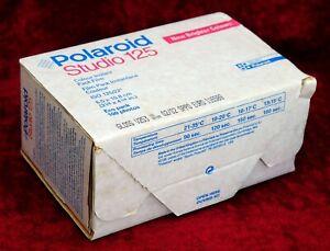 Polaroid Studio125i EMPTY BOX very good condition HOLDS 10 PACKS OF FILM