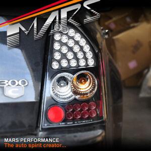 Black ALTEZZA LED TailLight Taillights for CHRYSLER 300C Sedan 09-12 V6 V8 SRT-8
