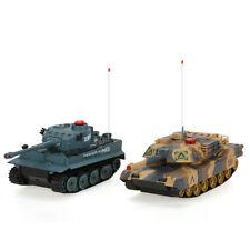 1 Set Of H Q Huanqi M1A2&German Tiger Dueling Rc Tanks
