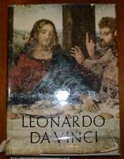 LEONARDO DA VINCI REYNAL & COMPANY, NY! PRINTED IN ITALY! GOOD CONDITION! 1956!