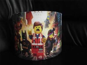 """LEGO MOVIE  10"""" DRUM CEILING LAMPSHADE LIGHTSHADE"""