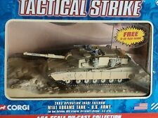 Corgi 2003 Operation Iraqi Freedom M1A1 Abrams US Army 1:64 Scale Diecast Tank