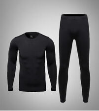 Mens Clothing Thermal Thermos Underwear Long Johns Underware Set for Cycling Ski