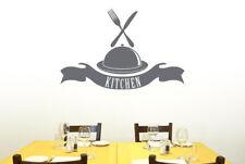 Kitchen Platter And Banner Vinilo Pegatinas De Pared Adhesivo Decoración