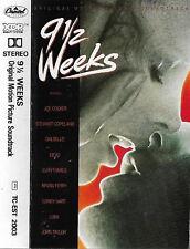 various 9 1/2 WEEKS CASSETTE ALBUM SOUNDTRACK JOE COCKER BRYAN FERRY LUBA DEVO