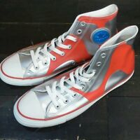 Very Rare Converse Ultraman High Cut Silver Sneaker From JAPAN Free shipping