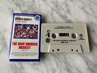 The Dave Brubeck Quartet Time Out CASSETTE Tape PROMO! Columbia CJT 40585 RARE!