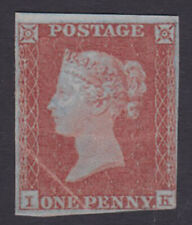 GB. QV. 1841, 1d red imperf. Mounted mint.