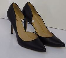 """MERONA SHOES / BLACK CLASSIC PUMPS  WITH STILETTO HEELS(4"""")  SIZE  7,5 NEW"""