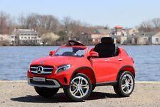 Mercedes-Benz GLA Red Licensed Dual Motor 12V Kids Ride-On Car Remote Control