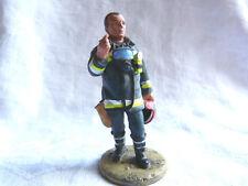 Figurine pompier Delprado - Pompier tenue de feu Espagne 2002   - Fireman spain
