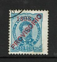 Portugal SC# 93, Used, Hinge Remnant, small tone dot - S7794
