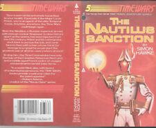 Simon Hawke The Nautilus Sanction autographed book cover
