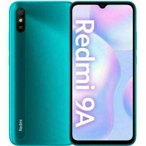 "Cellulare Smartphone Xiaomi Redmi 9A 2+32GB 6.53"" PEACOCK GREEN Dual Sim ITA"