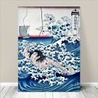 "Awesome Japanese SAMURAI WARRIOR Art CANVAS PRINT 36x24""~ Hiroshige Sea #244"