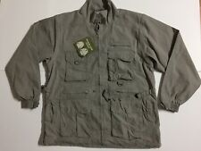 NEW Rothco Khaki Outback Trailblazer Jacket Mens XL Soft shell Removable Sleeves
