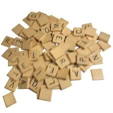 REPLACEMENT (individual) LETTER TILE, Scrabble Vintage, WOODEN, normal size