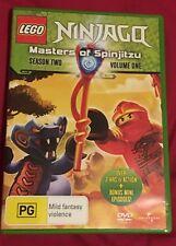 LEGO Ninjago - Masters of Spinjitzu : Series 2 : Vol 1 (DVD, 2012) VGC Region 4
