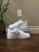 Nike Air Force 1 '07 Low 'White Iridescent Swoosh' Women's Sneakers (CJ1646-100)