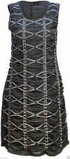 Unbranded Crew Neck Textured Dresses for Women