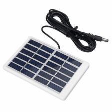 1.2W 6V Mini Portable Polycrystalline Solar Panel with Plastic Frame + 5521 DC