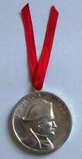 Médaille de l'Empereur Napoléon Ier, diamètre: 40 mm, poids: 7 grs en aluminium
