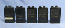 Lot of 4 Motorola Minitor & 1 Director Ii Sv Pagers for Parts Or Repair