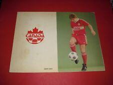1983 CANADA V SCOTLAND TOUR PROGRAMME