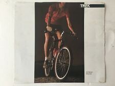 Vintage Original Trek Bicycle Catalog 1985