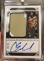 2019 National Treasures Collegiate Carsen Edwards RPA Rookie Patch Auto /99