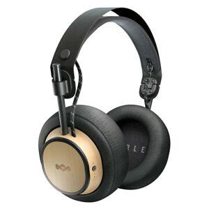 House of Marley Exodus Wireless Bluetooth HiFi Over Ear Headphones w/ Mic Black