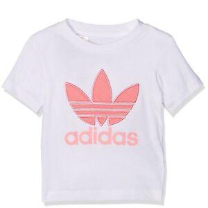 Adidas Originals Infant Baby Girls T-Shirt Top