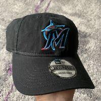 New Era 9Twenty Mlb Miami Marlins Baseball Snapback Hat Cap