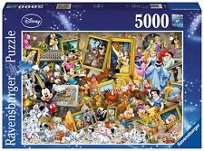 5000 Teile Ravensburger Puzzle Disney Mickey als Künstler 17432
