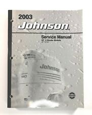 2003 Johnson Service Manual ST 4 Stroke 90 115 140 HP Outboard Motor 5005467