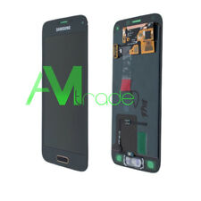 LCD DISPLAY COMPLETO TOUCH ORIGINALE SAMSUNG GALAXY S5 SM-G900F GOLD ORO