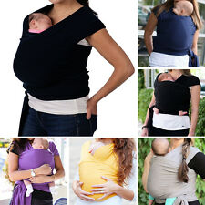 0-3T Newborn Baby Soft Stretchy Cotton Sling Sleepy Wrap Carrier- 12 Color/5. 2M
