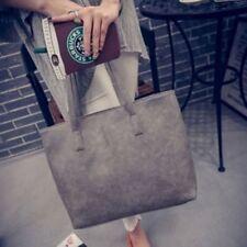 Women's Fashion PU Leather Tote Bags Ladies Shoulder Bag Messenger Handbag DP