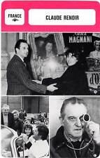 FICHE CINEMA :  CLAUDE RENOIR -  France (Biographie/Filmographie)