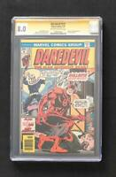 DAREDEVIL #131 VARIANT CGC SS 9.0 SIGNED BY STAN LEE 1ST BULLSEYE BRONZE KEY 1