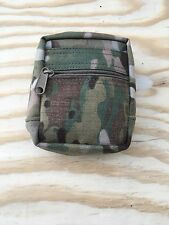 "multicam small zippered Molle general purpose pouch 4""x5"""